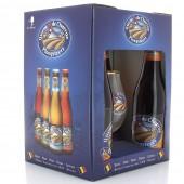 Coffret de bières Queue de Charrue 4 X 33cl + 1 verre (Coffret de bière)