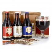 Coffret de 3 bouteilles de bières CHIMAY 33CL (Coffret de bière)