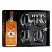 Coffret Terres de Whisky Four Roses Bourbon Single Barrel