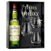 Coffret Terres de Whisky The Glenlivet 12 Ans 40