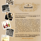 Billet d'entrée pour la soirée Dégustation des bières de la Brasserie Lindemans