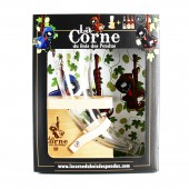 COFFRET LA CORNE 2B 33CL 1VERRE