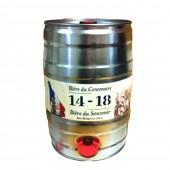 Fut de Bière du Centenaire - Bière du Souvenirs 14-18, 5 litres (Futs de bière)