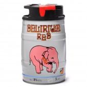 Fût de Bière Delirium Tremens RED 5 Litres (Futs de bière)