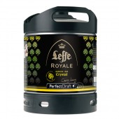 Fut bière Leffe Royale Crystal 6 Litres Perfectdraft (Futs de bière)