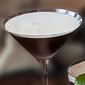 Cocktail St. Patrick - Guinness Martini