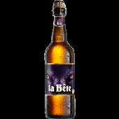 Bouteille de bière ambrée La Bête 8° - 75cl