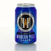 Bouteille de bière WHITE HAG MODERN PILS LAGER ROC 4.5 24X33CLVP