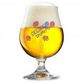 Verre à bière Delirium Tremens 25cl.