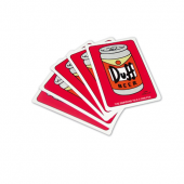 Jeu de cartes bière Duff