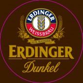 Bouteille de bière ERDINGER DUNKEL 5.6°
