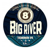 Bouteille de bière Big river Tasmanian 33cl