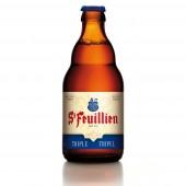 Bouteille de bière Saint Feuillien Triple 33cl