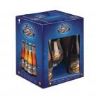 Coffret de bières Queue de Charrue 4 X 33cl + 1 verre