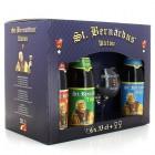 Coffret de bières St Bernardus 6 X 33cl + 2 verres