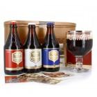 Coffret de 3 bouteilles de  bières CHIMAY 33CL