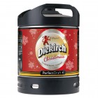 Fut bière DIEKIRCH de Noël Perfectdraft 6L