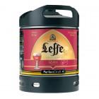 Fut bière LEFFE Ruby Perfectdraft 6L
