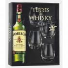 Coffret Jameson Whisky et 4 verres (40° - 70cl.)