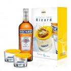 Coffret Ricard - 1 bouteille 70cl  + 2 verres Berthes