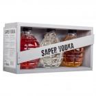 Coffret Vodka Saper - 3 bouteilles 20cl