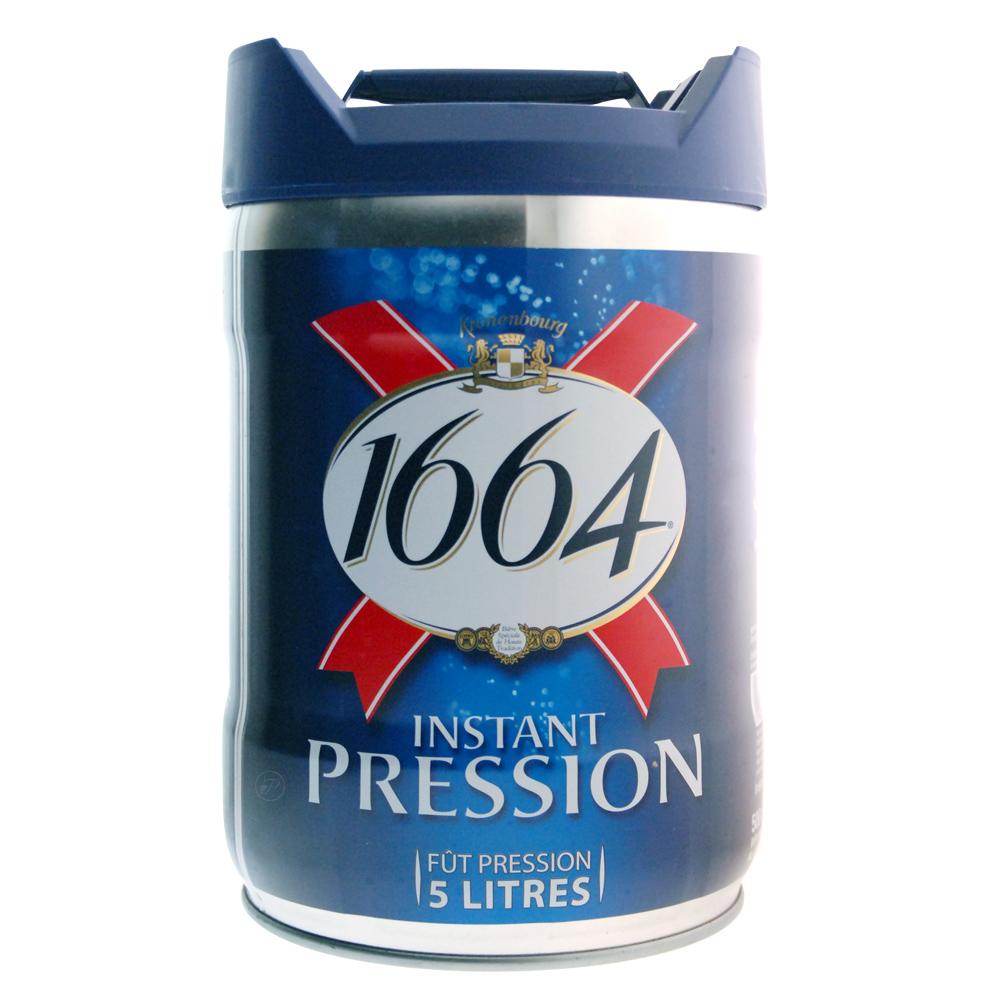 Fut bière 1664 Instant Pression 5L