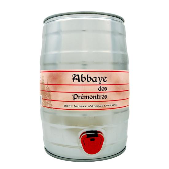 Fut bière ABBAYE DES PRÉMONTRÉS 5L