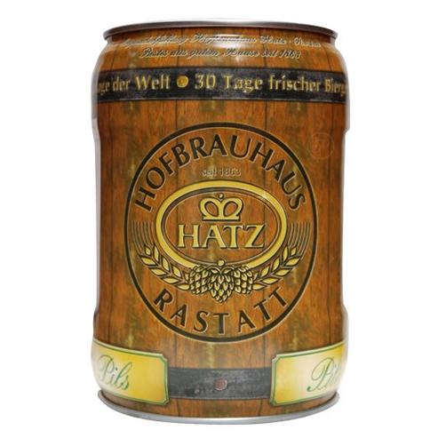 Fut bière Allemande HATZ PILS FRISCHE 5L. Fut de bière Allemande HATZ PILS FRISCHE Fut de bière 5 litres non pressurisé