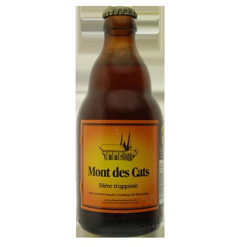 Bière Mont des Cats - 33cl. Bière Trappiste Mont des Cats Une recette originale et originelleLa Mont des Cats, bien que brassée &