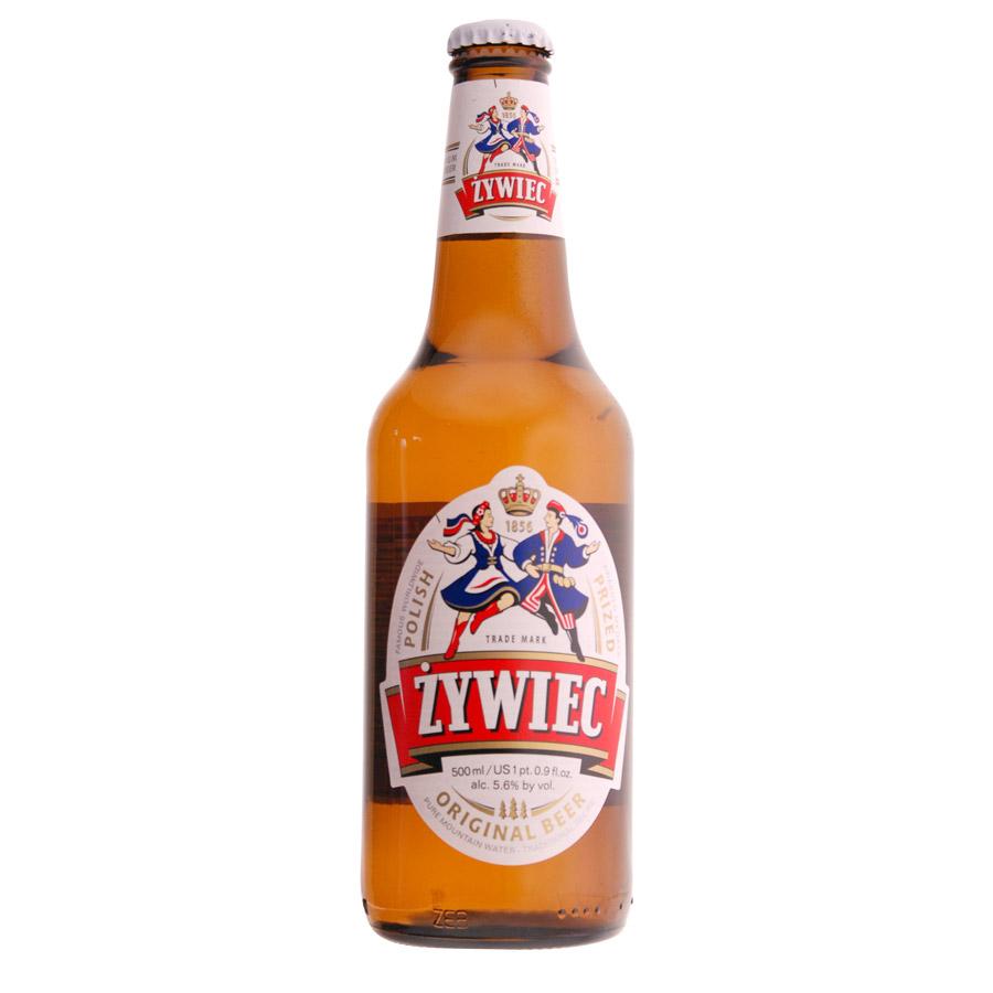 Bière polonaise Zywiec. Bière Polonaise de la Brasserie Zywiec. Bière blonde d'une teneur en alcool de 5,6°. La premiè