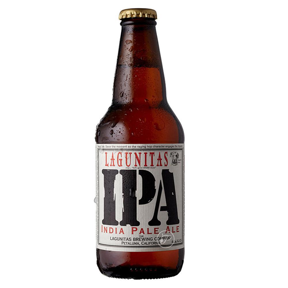 Bière Lagunitas IPA. L?IPA de la brasserie Lagunitas convertira les amateurs de bière les plus novices aux vertus de ce style. D?une rob