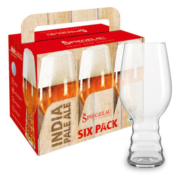 6 verres IPA Spiegelau - Craft Beer.. Le Coffret de 6 verres dégustation CRAFT BEER GLASSES : IPA, est sous une forme original comme ci on pren