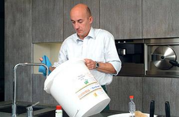 stérilisez et nettoyez le matériel de brassage