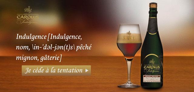 Découvrez la Carolus Indulgence, une bière rare, exclusive chez pompe à bière