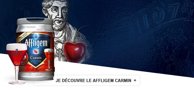 Découvrez une bière fruité en Beertender : l'Affligem Carmin