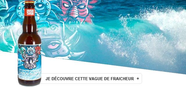 Découvrez une vaguie de Fraicheur : Les 4 surfeurs de l'apocalypso