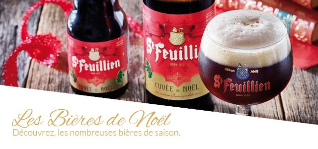 Découvrez les bières que la saison de Noël nous offre