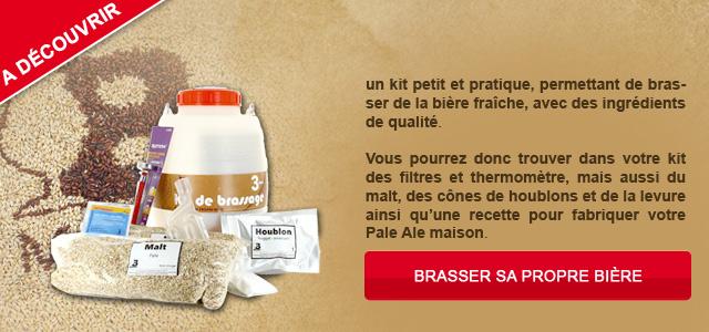Découvrez le Kit BMaker, afin de faire votre propre bière