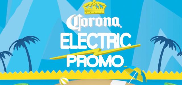 Electric Promo chez Corona, les beaux jours arrive! trouvez votre plage