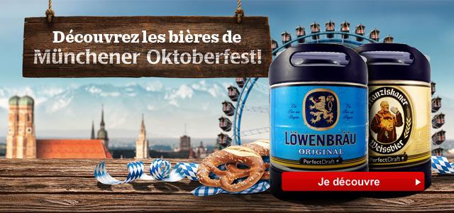 Découvrez les bières Allemande PerfectDraft : Franziskaner et Lowenbrau