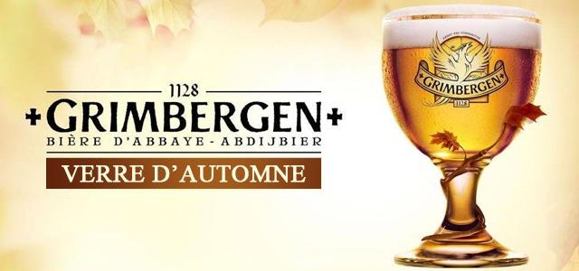 Découvrez le nouveau Verre Grimbergen Automne