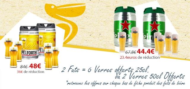 #aperoparfait 6 Verres offerts pour l'achats de 2 futs de bière Beertender