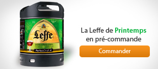Leffe de Printemps Perfectdraft, disponible en précommande