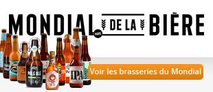 Les Brasseries du Mondial de la bière : Découvrez nos brasseries partenaires présentes au Mondial de la bière