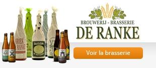 Découvrez les bières de de la Brasserie De Rank