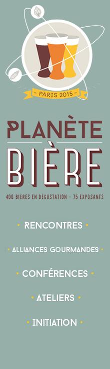 Retrouvez, suite au salon de Paris, toutes les bières du Salon Planète Bière de Paris.