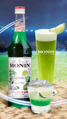 Découvrez les cocktails Caïpirinha by Monin