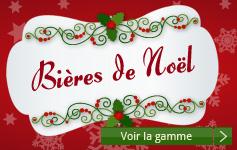 Retrouvez toute nos Bières de Noël'