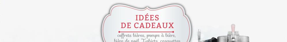 Idées Cadeaux : retrouvez toutes les idées cadeaux pour faire plaisir les amoureux de la bières et des spiritueux