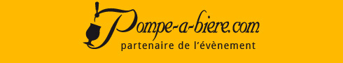 pompe-a-biere.com partenaire de l'évènement